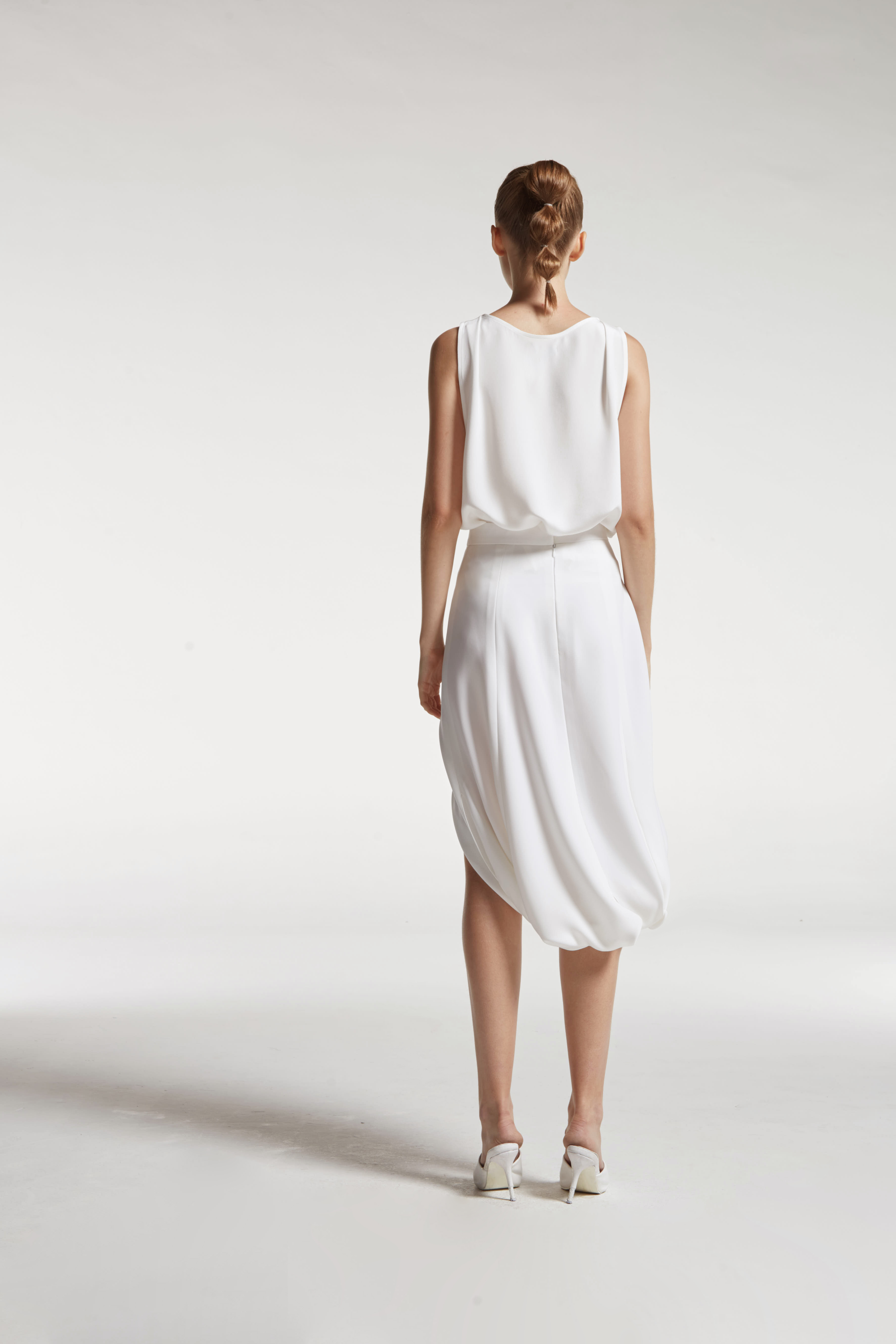 9b41e5aafb Front Slit Harem Skirt | Vickteerut